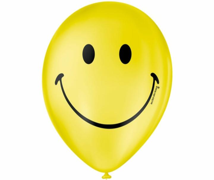 Balão No 9 Smile c/25 un -