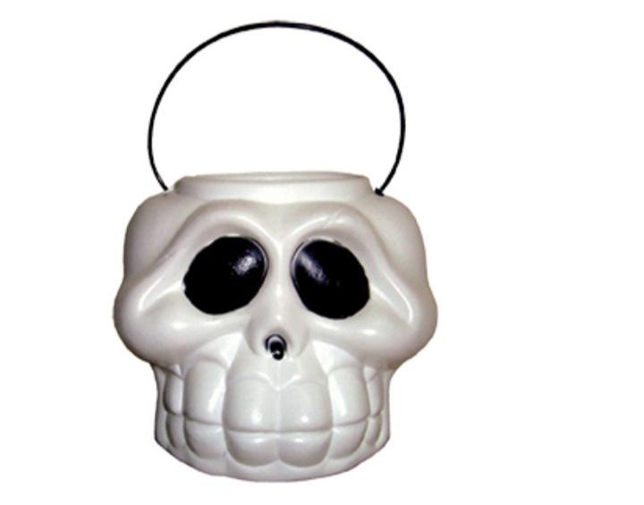 Balde Cabeça de Esqueleto Grande - Plastoy