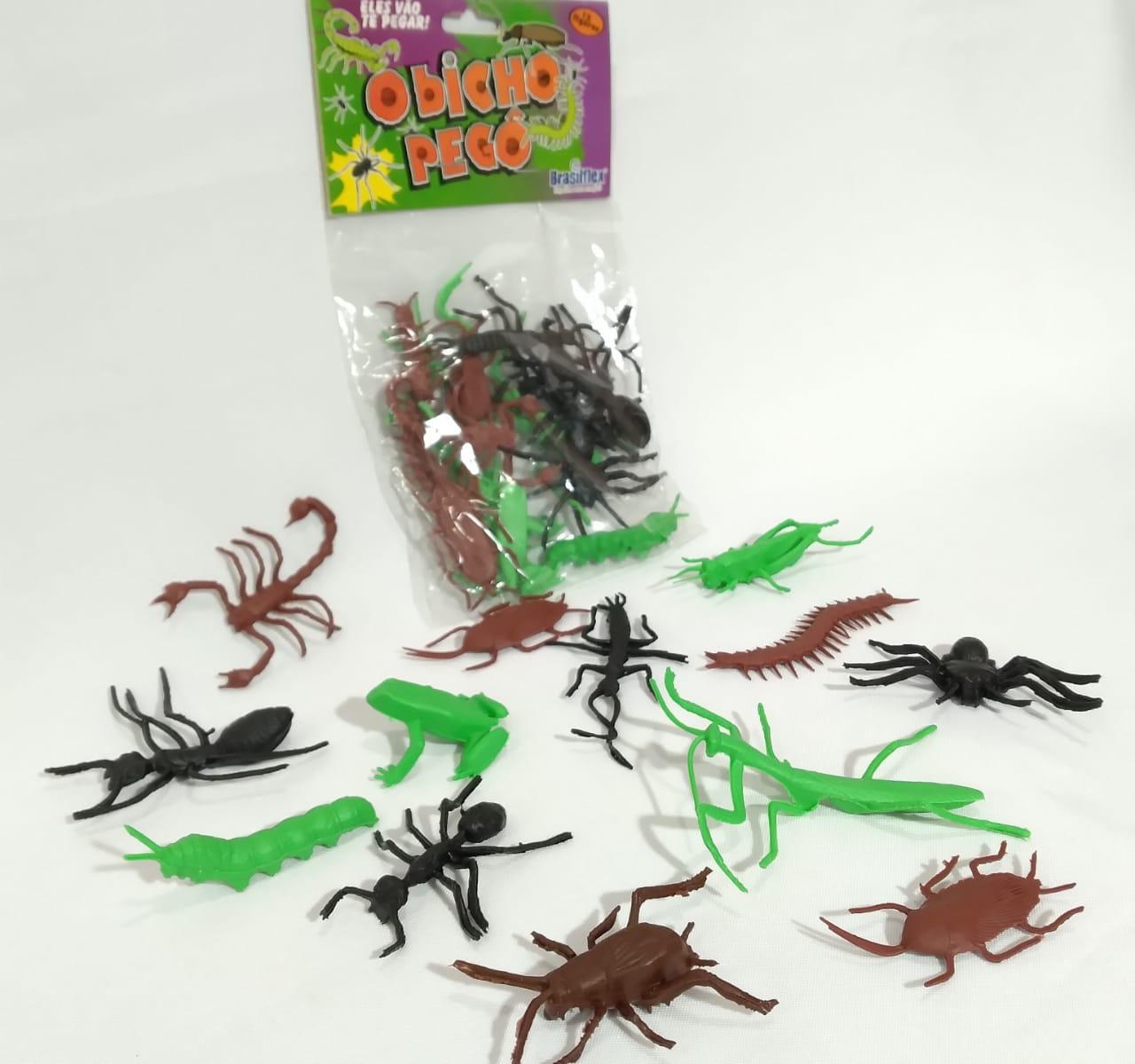 Bicho Pego c/12 unidades - Plastoy