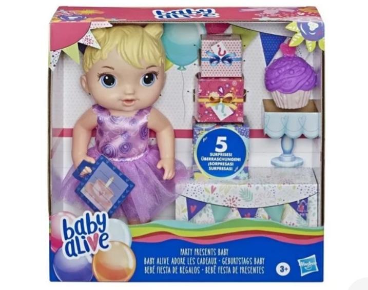 Boneca Baby Alive Festa de Presentes - Hasbro