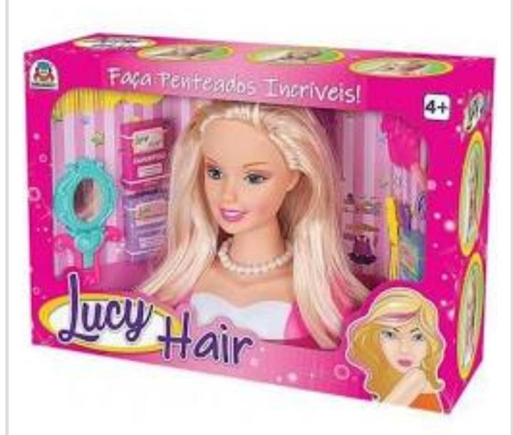 Boneca Lucy Hair - Braskit