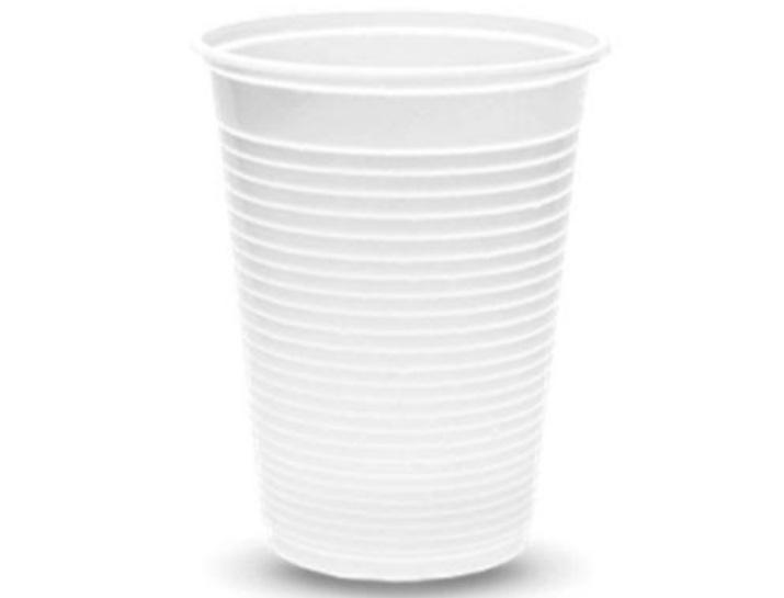 Copo Descartável Branco 300ml c/50 un -