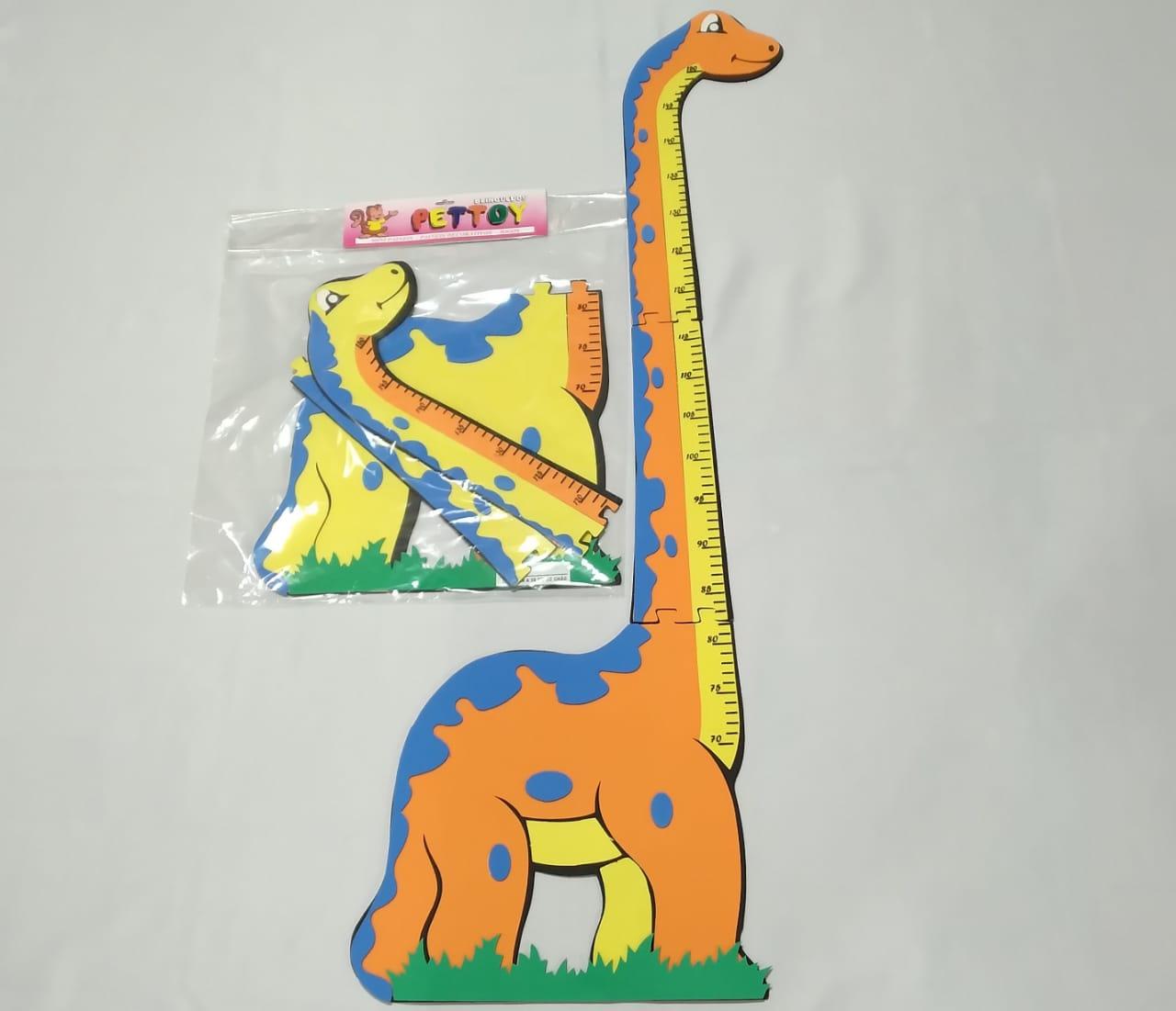 Dino Altura em EVA até 1,5m - Pet Toy