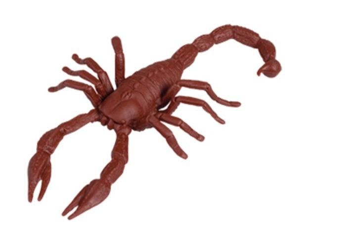 Escorpião 18 cm - Plastoy
