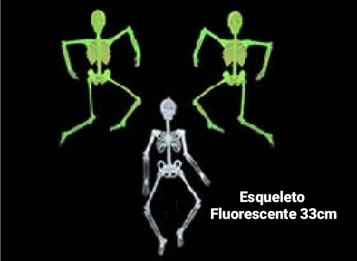 Esqueleto Fluorescente 33 cm - BPG