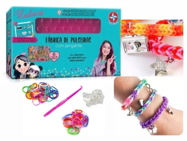 Fabrica de Pulseiras Luluca com Pingente - Estrela