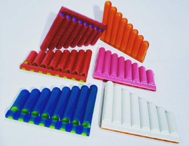 Gaita Cores Sortidas pct c/6 un (10x8,5cm) -