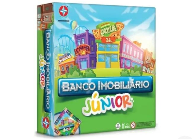 Jogo Banco Imobiliário Jr - Estrela