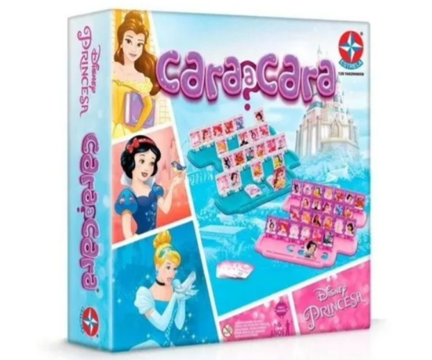 Jogo Cara Cara Princesas - Estrela