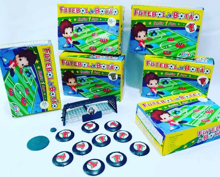 Jogo de Botão cx c/1 jogo -