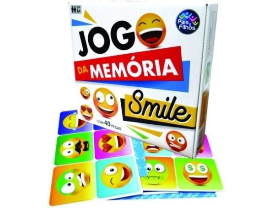Jogo de Memória Smile - Pais e Filhos
