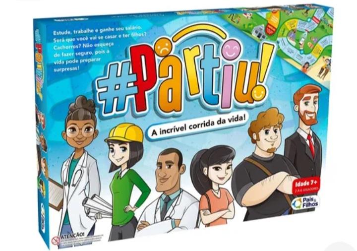 Jogo #Partiu - Pais e Filhos