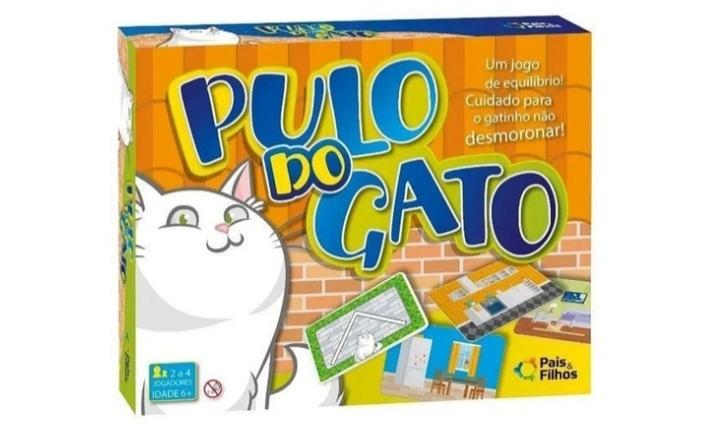 Jogo Pulo do Gato - Pais e Filhos