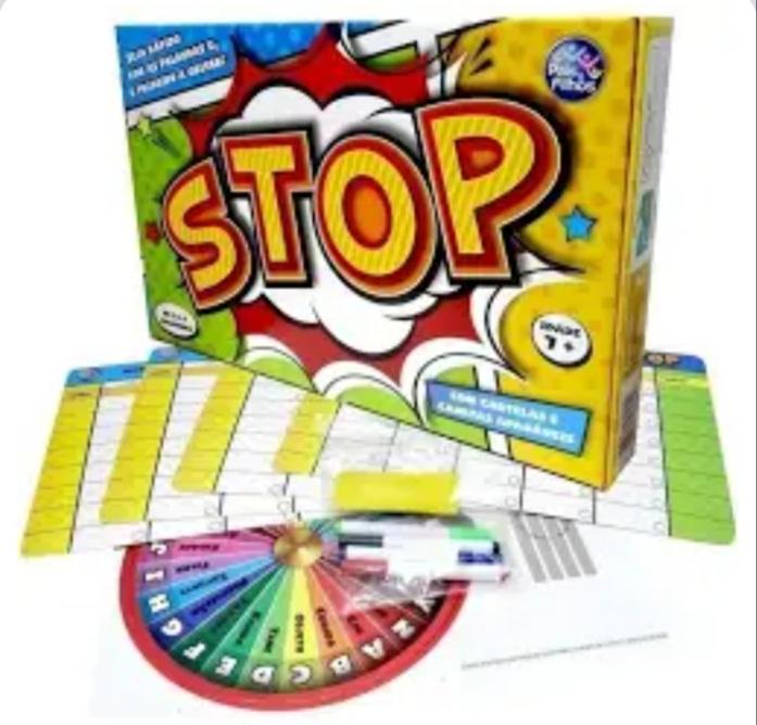 Jogo Stop Tabuleiro - Pais & Filhos