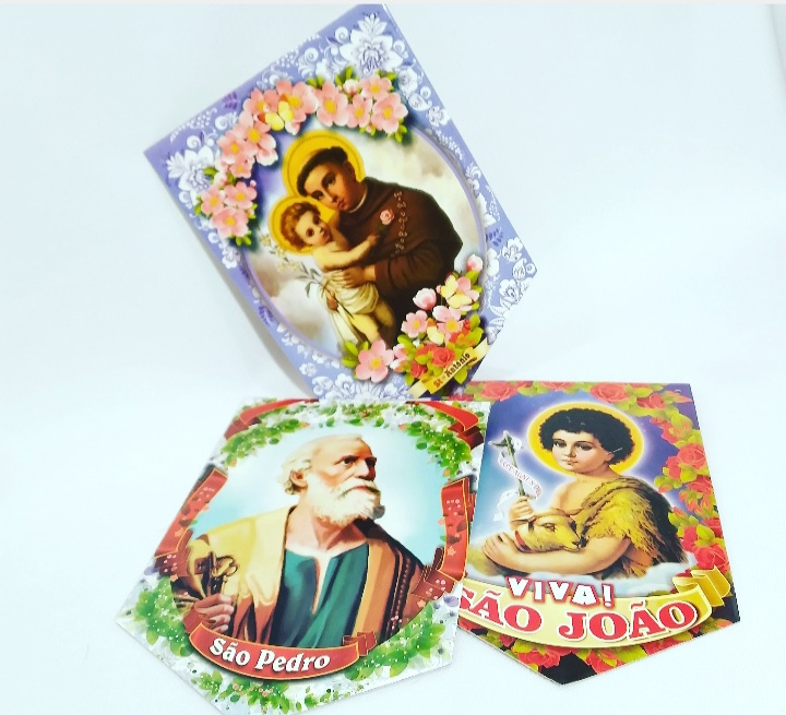 Kit Santo c/3un - Festança