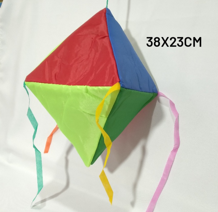 Lanterna Decorativa Pequena de Nylon Medida 38x23cm - Real Seda