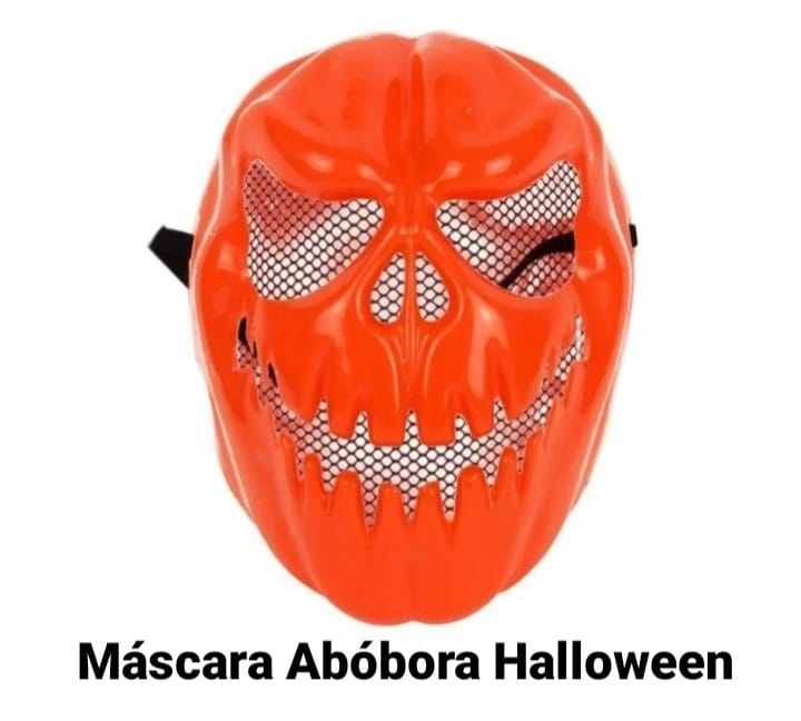 Máscara Abóbora Halloween - BPG