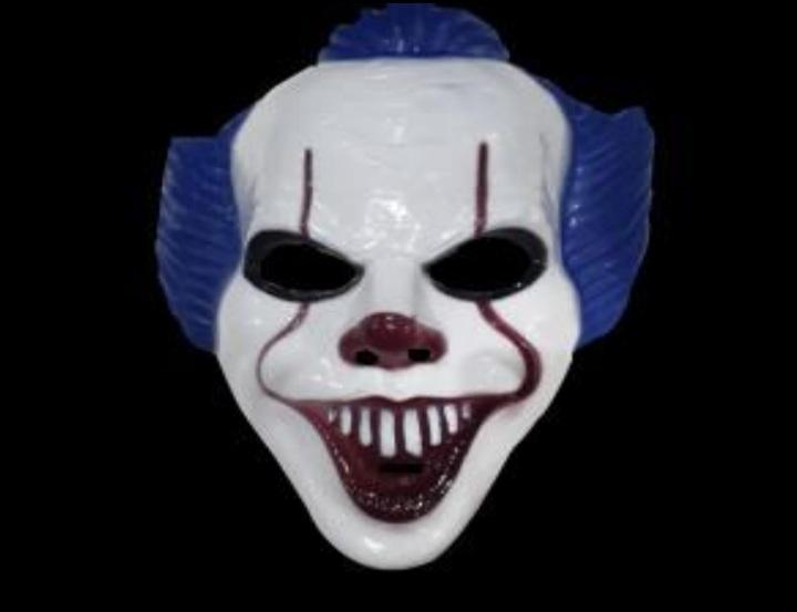 Máscara Palhaço Modelo 4 - Bazar Import
