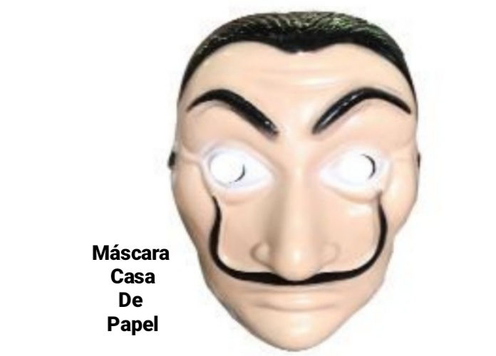 Máscara Salvador - Bazar Import