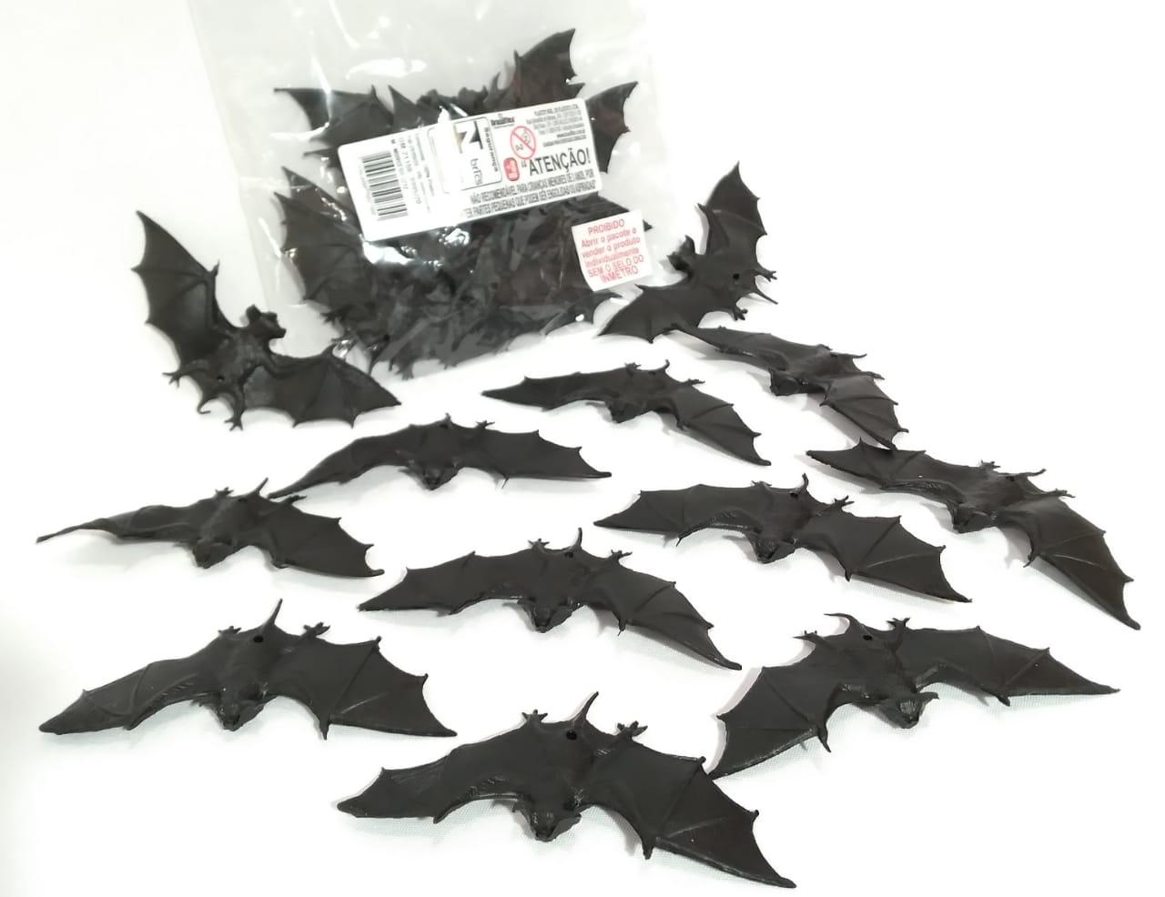 Mini Morcego c/12 unidades 11 cm - Plastoy