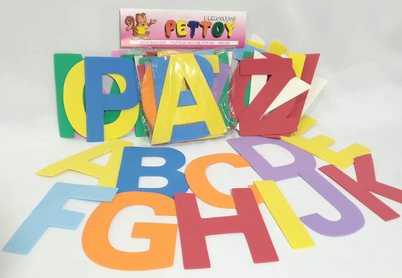 Painel ABC 15cm em EVA - Pet Toy