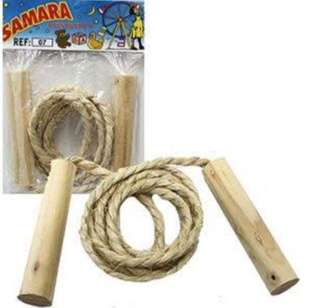 Pula corda 1,60m Sisal - Sisal