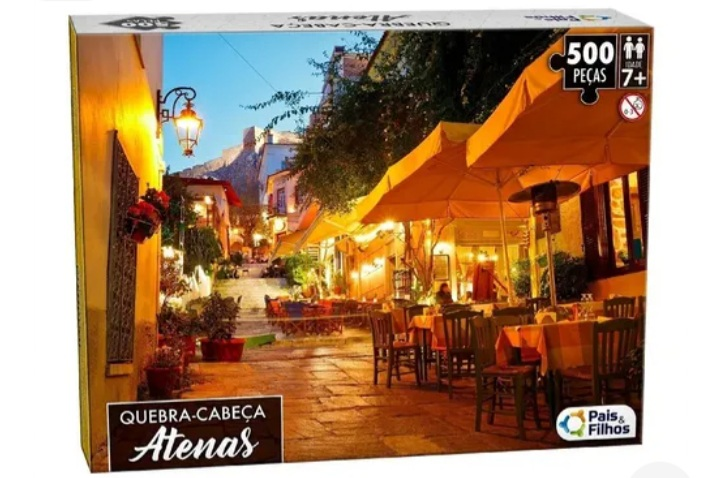 Quebra Cabeça Atenas 500 peças -