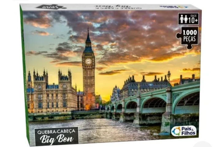 Quebra Cabeça Big Ben 1000 peças -