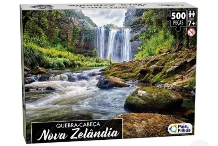 Quebra Cabeça Nova Zelândia 500 peças -