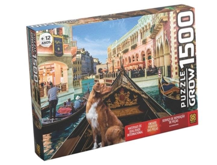 Quebra Cabeça Pet na Gôndola 1500 peças - Grow