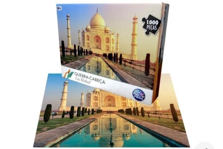 Quebra Cabeça Taj Mahal 1000 Peças - Pais e Filhos
