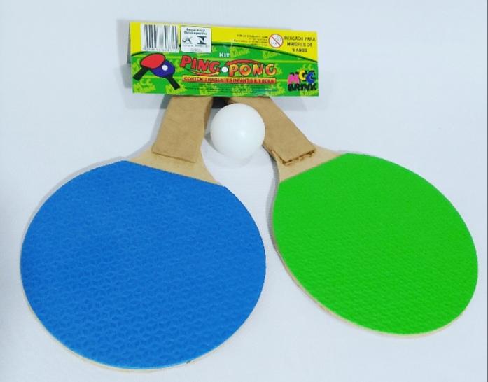 Raquete para Tenis de Mesa Cores Sortidas -