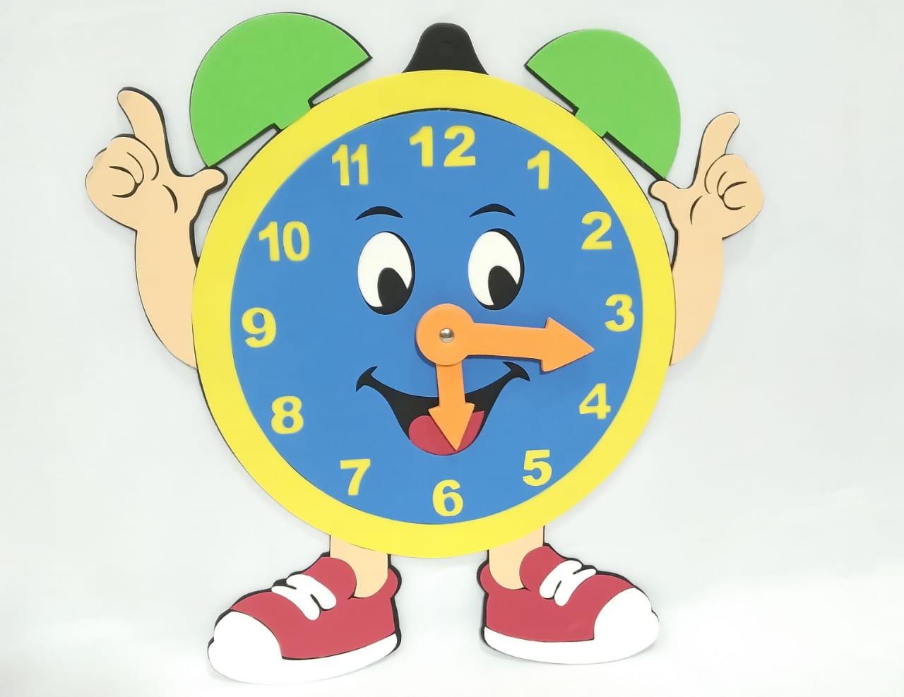 Relógio Mãozinha em EVA - Pet Toy