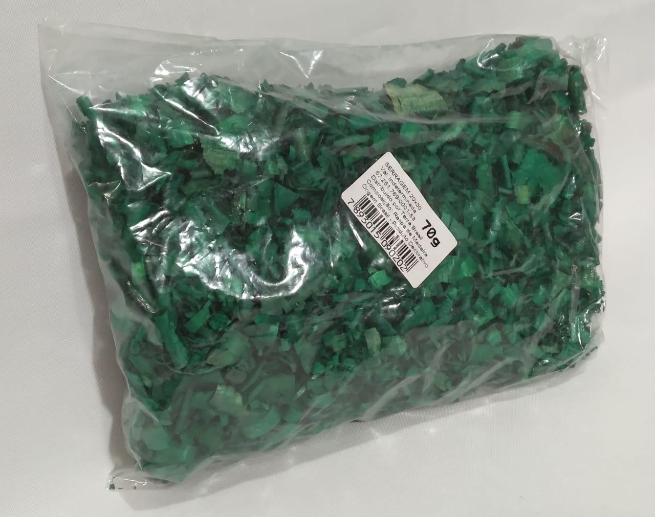 Serragem Verde 70 gms - Terra Brasil