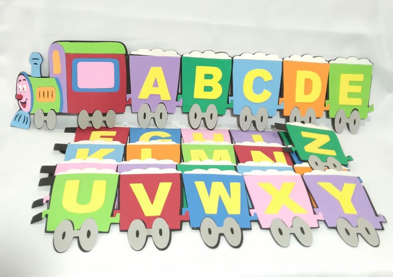 Trem ABC em EVA - Pet Toy