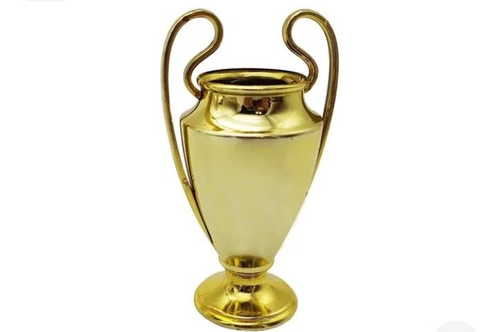 Troféu Dourado Futebol pct c/10un (9,5x5cm) -