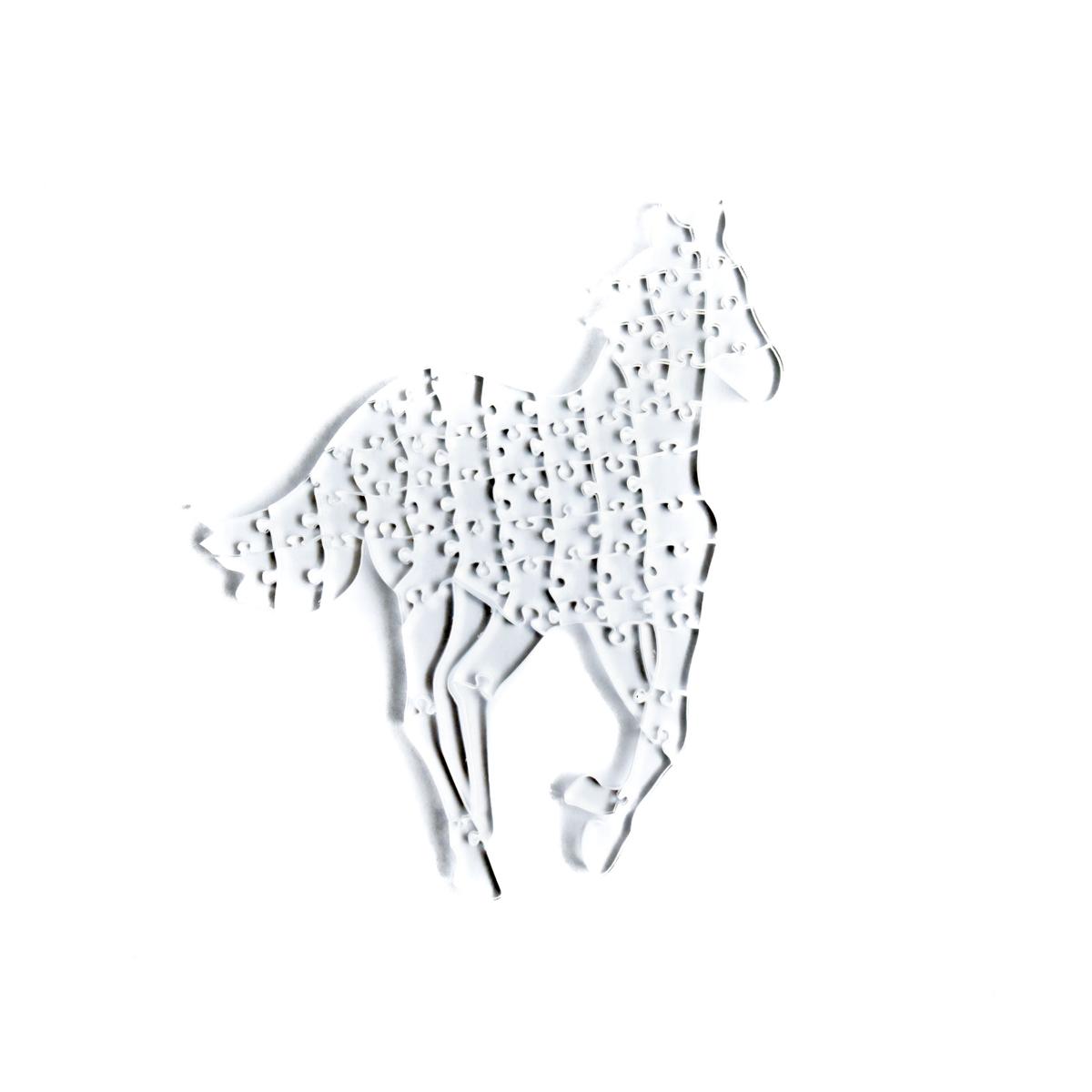 Quebra Cabeça Transparente Cavalo