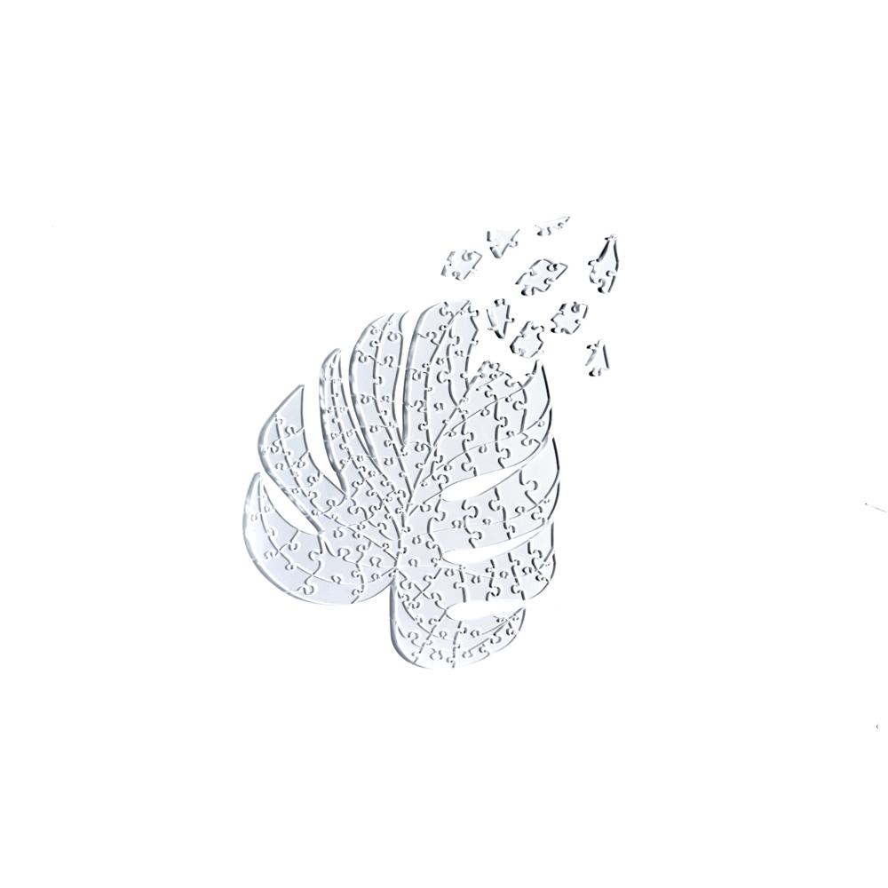 Quebra Cabeça Transparente Costela de Adão - 116 peças
