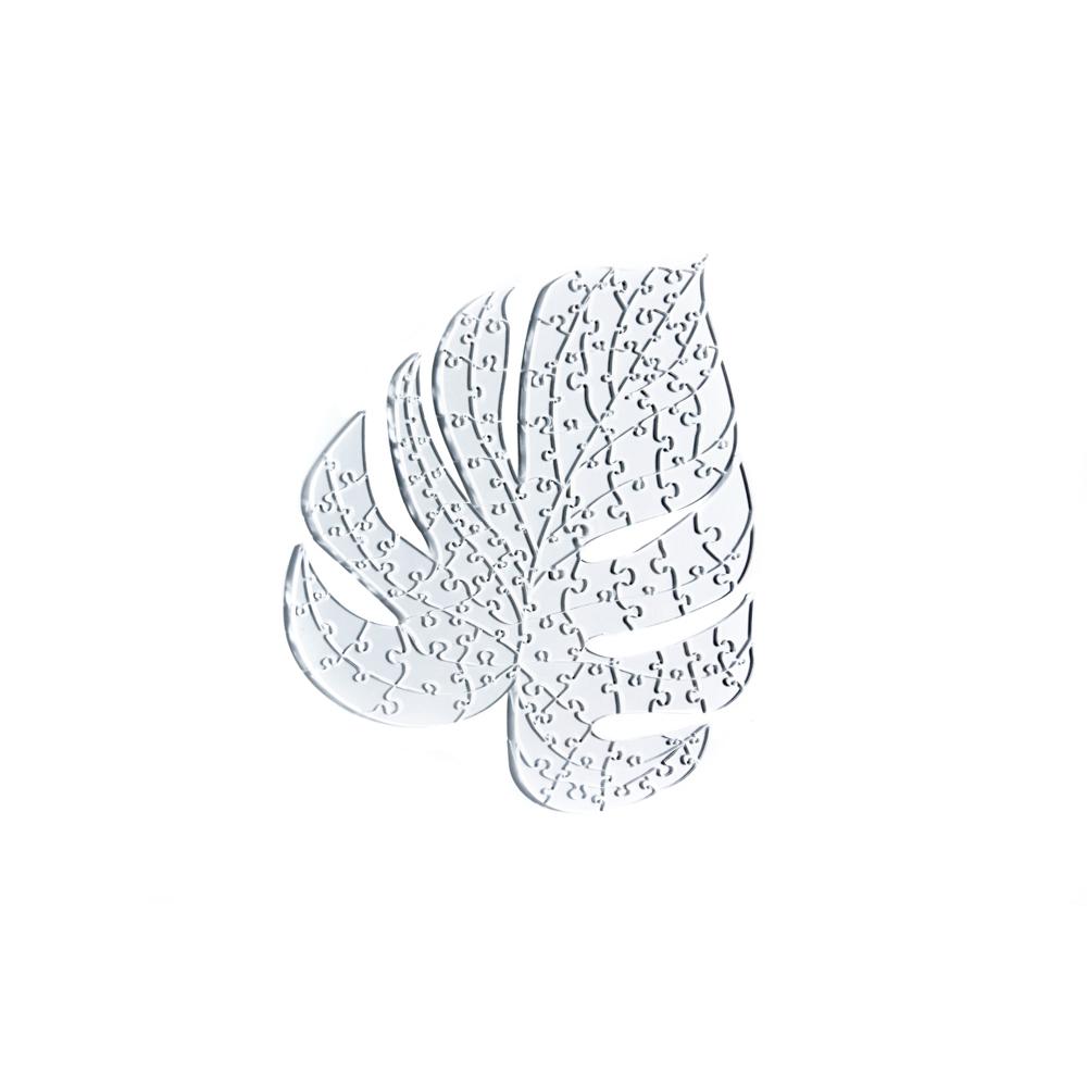 Quebra Cabeça Transparente Costela de Adão - Moldura Preta