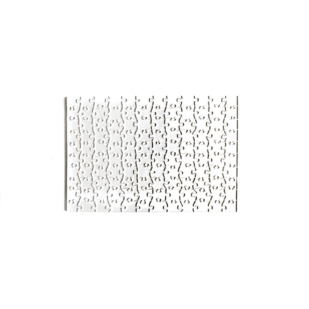 Quebra Cabeça Transparente Difícil - Moldura Preta