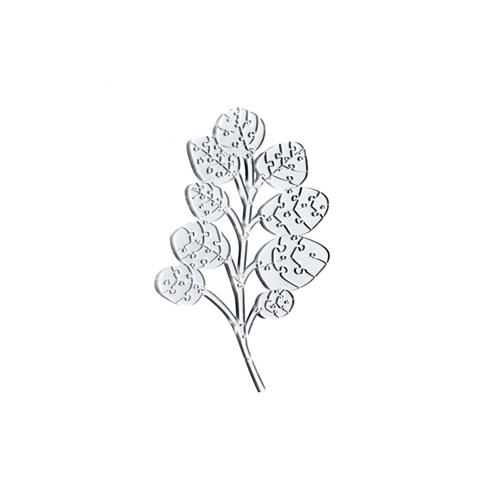 Quebra Cabeça Transparente Eucalipto - 78 peças