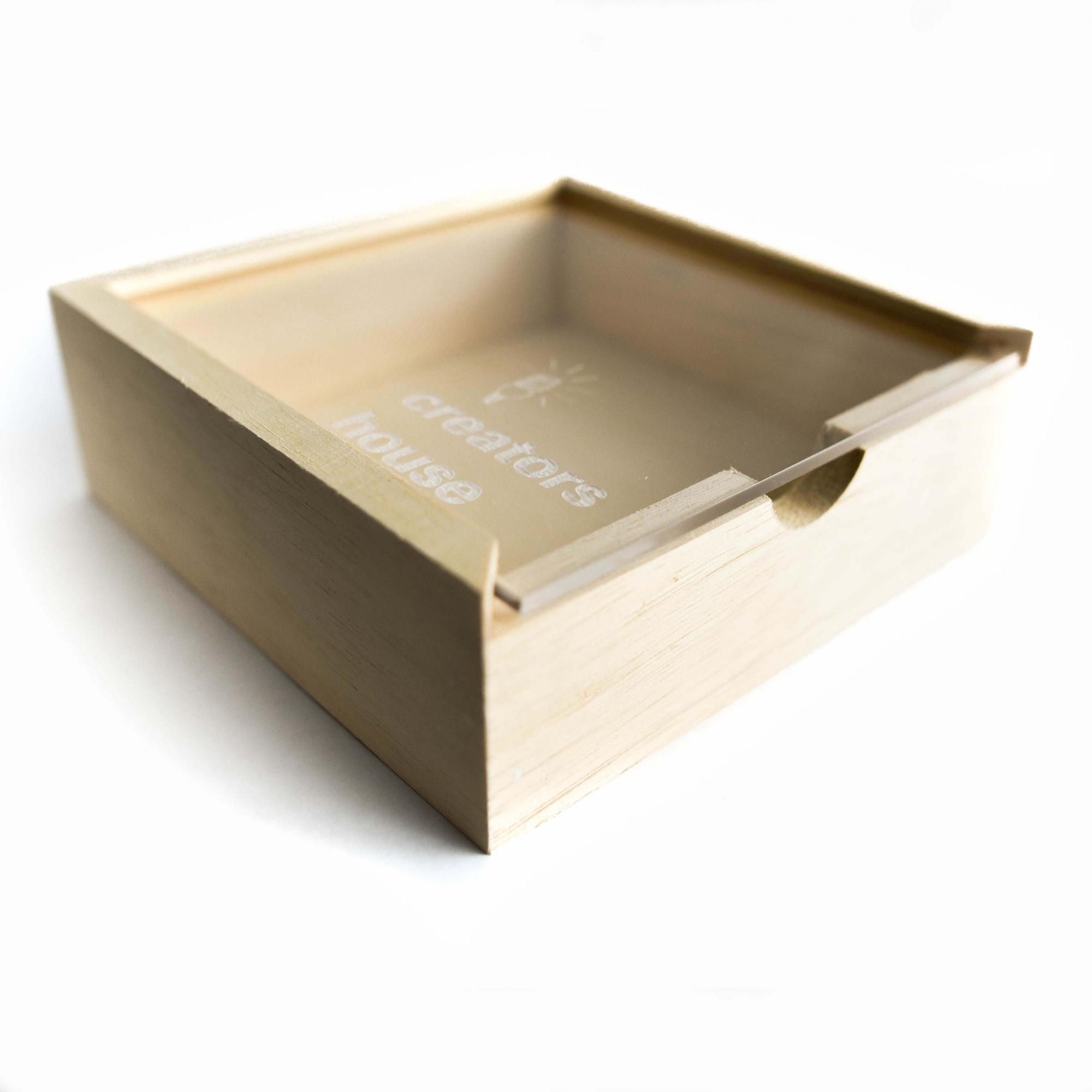 Quebra Cabeça Transparente Eucalipto (78 peças) + Caixa