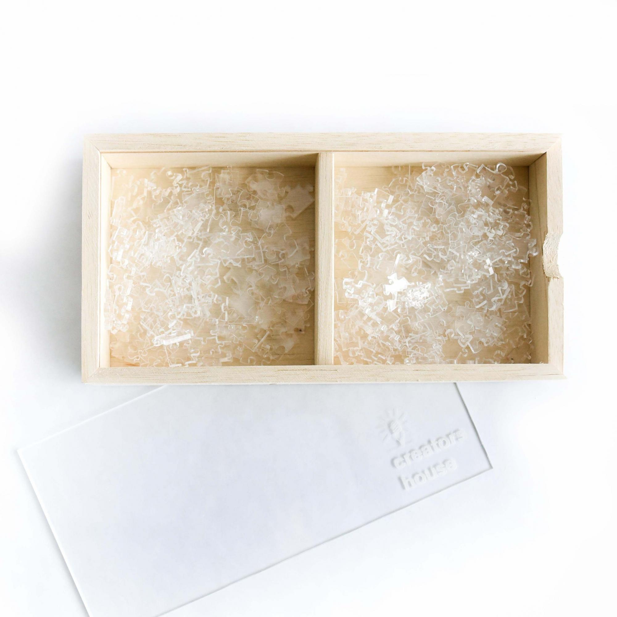 Quebra Cabeça Transparente Expert (525 peças) + Caixa