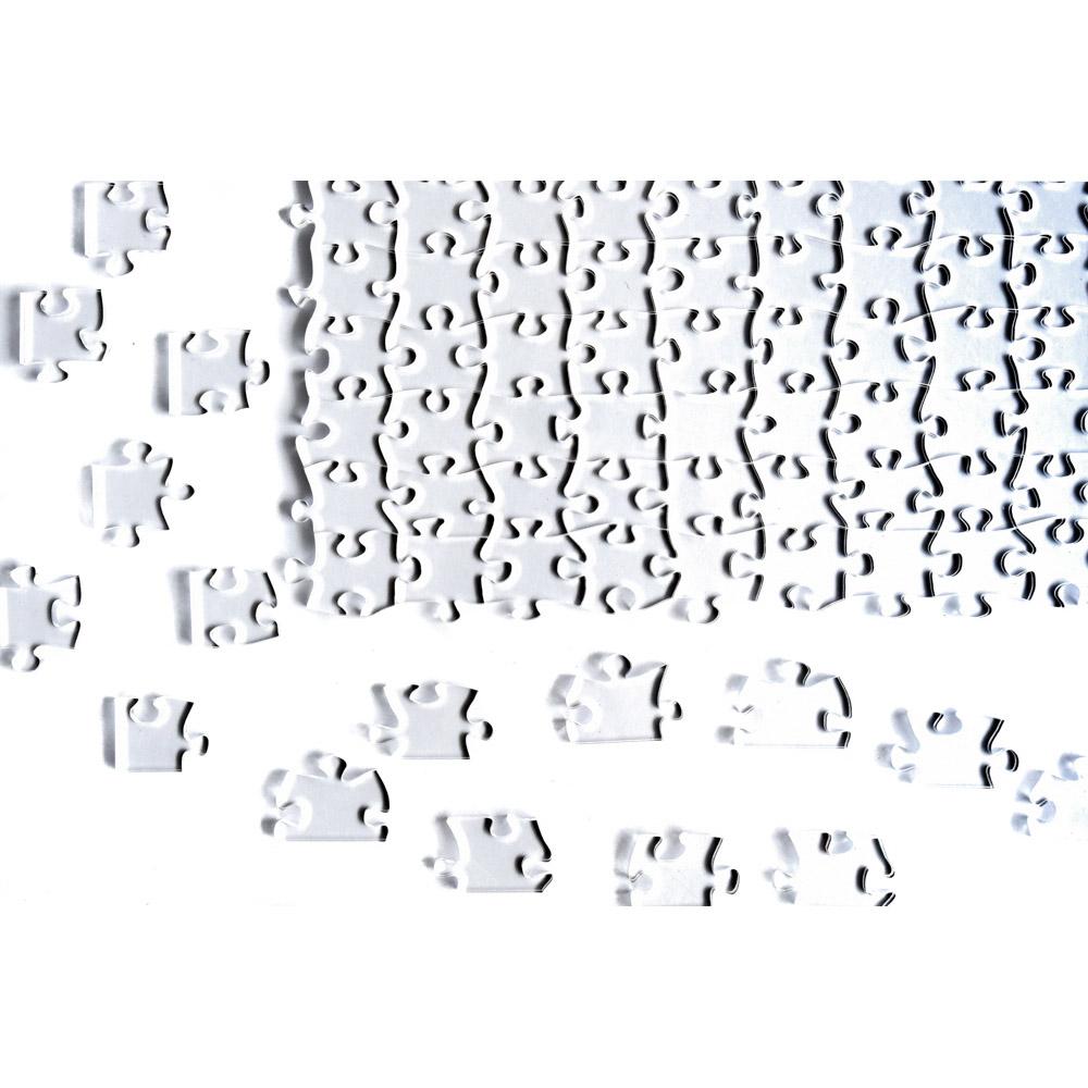 Quebra Cabeça Transparente Difícil - 120 Peças
