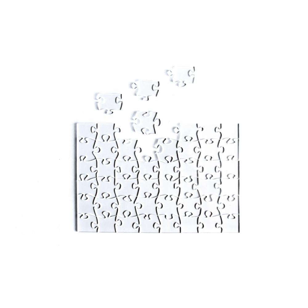 Quebra Cabeça Transparente Fácil - 48 Peças