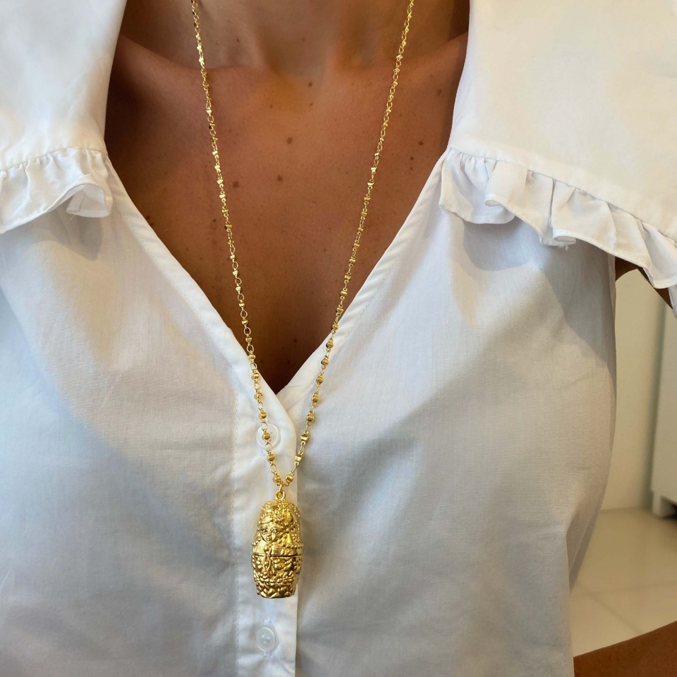 Matrioska Mãe Ouro - Foto 2