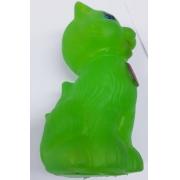 Brinquedo Mordedor Para Cães Gato Verde