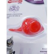 Brinquedo Para Gatos Odontopet Mouse Laranja