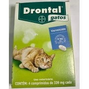 Drontal Gatos Comprimido Bayer