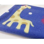 Manta Soft Sao Pet Azul Estampado Eg